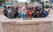 В Курске заложен храм в честь Воздвижения Креста Господня
