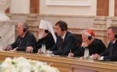 Патриарший экзарх всея Беларуси принял участие во встрече Президента Республики Беларусь с участниками заседания Совета епископских конференций Европы