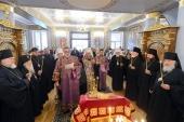 В рамках празднования 145-летия учреждения Туркестанской епархии в Алма-Ате совершена лития по всем приснопамятным архипастырям, пастырям, монашествующим и мирянам, подвизавшимся на Казахстанской земле