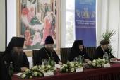В Никольском Черноостровском монастыре Калужской епархии прошла конференция «Древние монашеские традиции и современность»