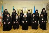 Состоялось заседание Синода Казахстанского митрополичьего округа