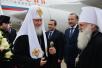 Патриарший визит в Ташкентскую епархию. Прибытие в Ташкент