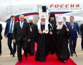Святейший Патриарх Кирилл прибыл в Узбекистан
