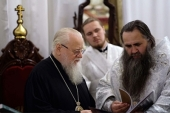 Митрополит Екатеринодарский Исидор и митрополит Нижегородский Георгий помолились о погибших и пострадавших в ДТП паломниках