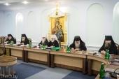 Состоялось очередное заседание Синода Белорусской Православной Церкви