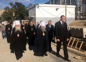 Управляющий делами Московской Патриархии посетил Волгоградскую митрополию