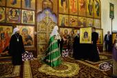 Слово Святейшего Патриарха Кирилла после вечернего богослужения в соборе святителя Алексия Московского в Самарканде