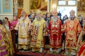 В Алма-Ате прошли торжества по случаю 145-летия учреждения Туркестанской епархии