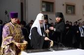 Святейший Патриарх Кирилл освятил место строительства Центра православного просвещения и культуры в Ташкенте