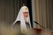 Выступление Святейшего Патриарха Кирилла на торжественном акте, посвященном 145-летию Ташкентской епархии