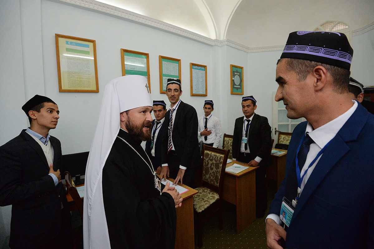Патриарший визит в Ташкентскую епархию. Осмотр достопримечательностей Бухары
