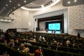 Святейший Патриарх Кирилл принял участие в торжественном акте, посвященном 145-летию Ташкентской епархии
