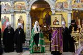 Слово Святейшего Патриарха Кирилла после Литургии в Успенском соборе Ташкента