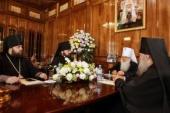 В Ташкенте состоялось заседание Синода Среднеазиатского митрополичьего округа