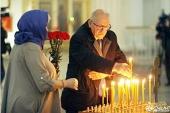 В Троице-Измайловском соборе северной столицы помянули жертв теракта в метрополитене Санкт-Петербурга