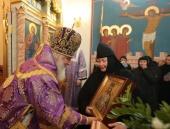 Престольный праздник встретили в Борисоглебском Аносином ставропигиальном женском монастыре