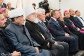 Патриарший экзарх всея Беларуси посетил церемонию открытия нового здания Апостольской нунциатуры в городе Минске