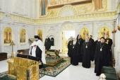 В Даниловом монастыре в Москве состоялось очередное заседание Священного Синода Русской Православной Церкви