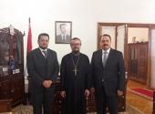 Представитель Патриарха Московского и всея Руси при Патриархе Антиохийском встретился с послом Сирии в России