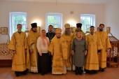 Пятилетие Яранской епархии отметили освящением храма в здании епархиального управления