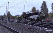 Церковь оказывает помощь пострадавшим при столкновении пассажирского автобуса и поезда во Владимирской области