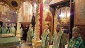 В Троице-Сергиевой лавре состоялись торжества по случаю 220-летия со дня рождения святителя Иннокентия (Вениаминова) и 40-летия его канонизации