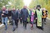 В Мелекесской епархии прошли торжества по случаю дня памяти преподобного Сергия Радонежского