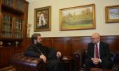 Председатель ОВЦС встретился с послом Чехии в России