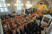 В день памяти апостола Иоанна Богослова в домовом храме Санкт-Петербургской духовной академии состоялись торжества престольного праздника
