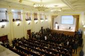 Святейший Патриарх Кирилл выступил на I Международном коммуникативном форуме «МедиаПост» в РГСУ