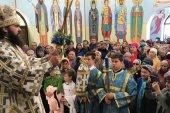 Архиепископ Пятигорский и Черкесский Феофилакт посетил Патриаршие приходы Русской Православной Церкви в Туркменистане