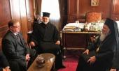 Председатель Императорского православного палестинского общества встретился со Святейшим Патриархом Константинопольским Варфоломеем