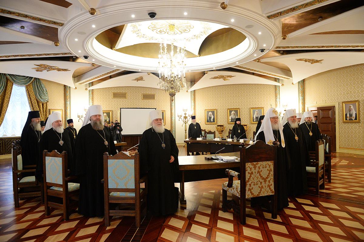 Заседание Высшего Церковного Совета Русской Православной Церкви от 12 октября 2017 года