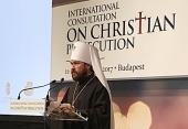 Выступление председателя ОВЦС на международной конференции «В поиске подходящих ответов на кризис, который долго не хотели признавать»
