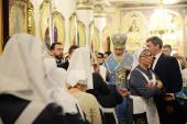 Предстоятель Русской Церкви совершил вечернее богослужение в соборе святого благоверного князя Александра Невского в Ижевске