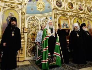 Слово Святейшего Патриарха Кирилла по окончании богослужения в Александро-Невском соборе Ижевска