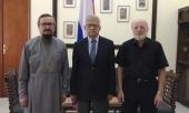 Представитель Патриарха Московского и всея Руси при Патриархе Антиохийском и всего Востока встретился с Послом РФ в Ливанской республике