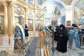 Председатель Синодального отдела по монастырям и монашеству возглавил торжества по случаю престольного праздника Покровского монастыря г. Москвы