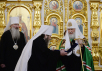 Патриарший визит в Удмуртскую митрополию. Литургия в Михайловском кафедральном соборе Ижевска