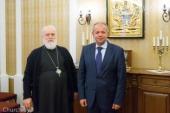 Патриарший экзарх всея Беларуси встретился с новоназначенным министром культуры Белоруссии