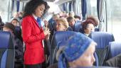 В Москве стартовал социальный проект для пенсионеров «Добрый автобус»