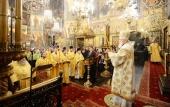 Слово Святейшего Патриарха Кирилла в день памяти Первосвятителей Московских после Литургии в Успенском соборе Московского кремля