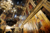 Патриаршее служение в день Первосвятителей Московских в Успенском соборе Московского Кремля