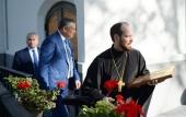 Представители руководства Ленинградской области посетили храм Всех святых в Страсбурге