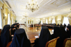 Встреча Святейшего Патриарха Кирилла со слушателями курсов повышения квалификации для новопоставленных архиереев