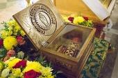 Ковчег с башмачком святителя Спиридона Тримифунтского принесен в Исаакиевский собор Санкт-Петербурга