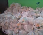 Белгородская митрополия выступила организатором акции по раздаче продуктов питания нуждающимся