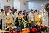Состоялось отпевание и погребение настоятельницы Свято-Троицкого Творожковского монастыря монахини Анны (Ткач)