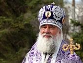 Патриаршее поздравление митрополиту Ионе (Карпухину) с 25-летием архиерейской хиротонии