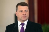 Святейший Патриарх Кирилл поздравил Президента Латвии Р. Вейониса с Днем независимости
